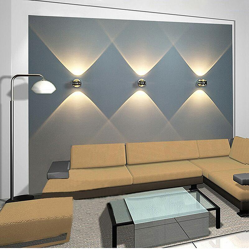 Details Sur Applique Murale Led 6w Eclairage Interieur Lampe De Chevet De Salon De Cham N2z1