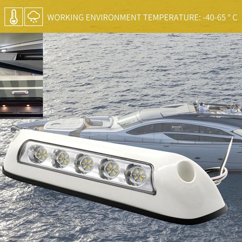 Details About 12v Car Rv Boat Led Spotlights Dome Lamp 5 Lighting 2 6 W Ceiling Light B 3b9