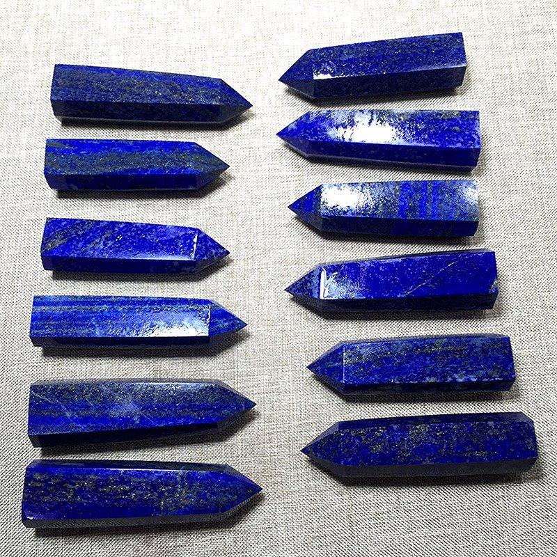 3X-Lapis-Lazuli-Natural-Crystal-Column-Lapis-Lazuli-Crystal-Column-Hexagona-J9M4 thumbnail 8