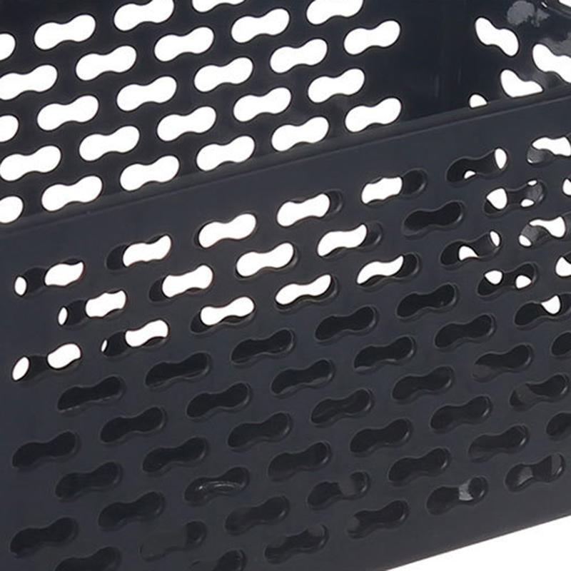 Kunststoff-Desktop-Ablage-Korb-Rechteckigen-Bad-Tragbare-Aufbewahrungs-Box-M8A3 Indexbild 13