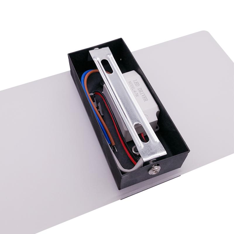 Applique-Murale-Acrylique-Led-6W-22Cm-Appliques-Murales-Interieures-Salon-D8G1 miniature 3