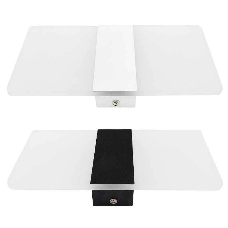 Applique-Murale-Acrylique-Led-6W-22Cm-Appliques-Murales-Interieures-Salon-D8G1 miniature 4