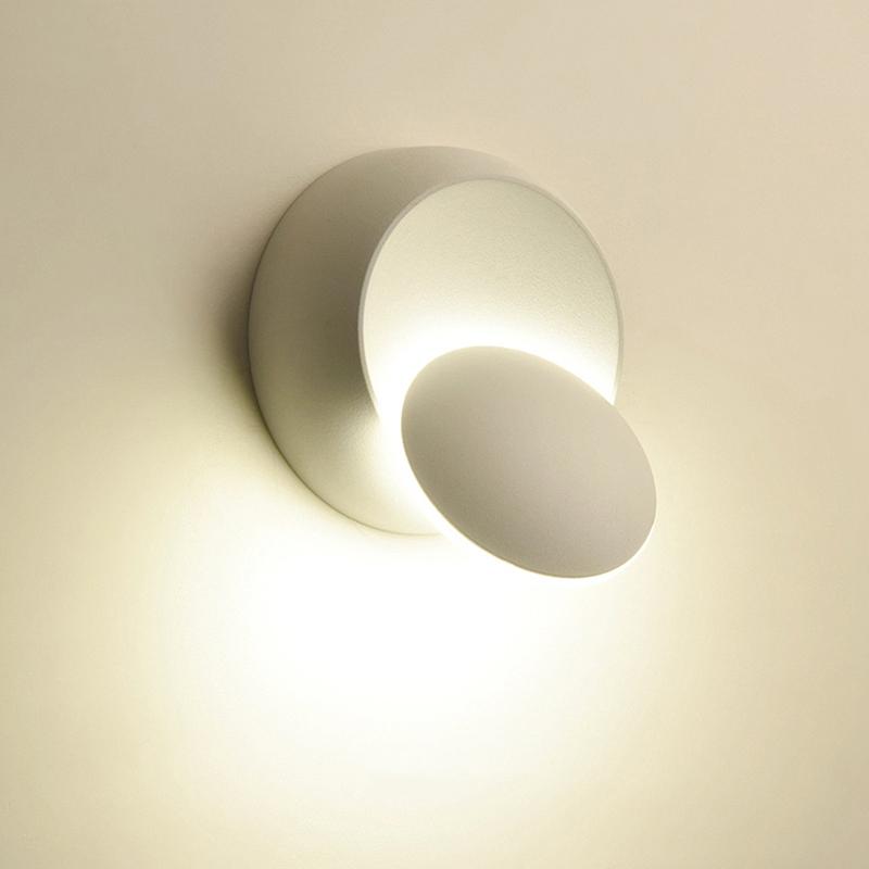 Lampe-De-Chevet-Ajustable-Rotative-A-360-Degres-85V-265V-Applique-5W-Led-I8D4 miniature 4