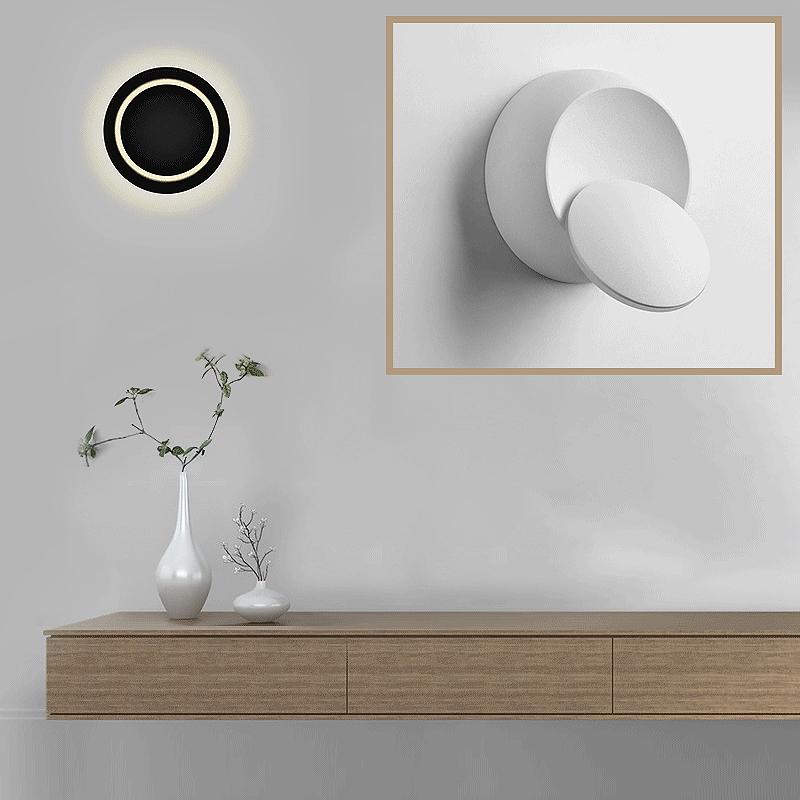 Lampe-De-Chevet-Ajustable-Rotative-A-360-Degres-85V-265V-Applique-5W-Led-I8D4 miniature 5