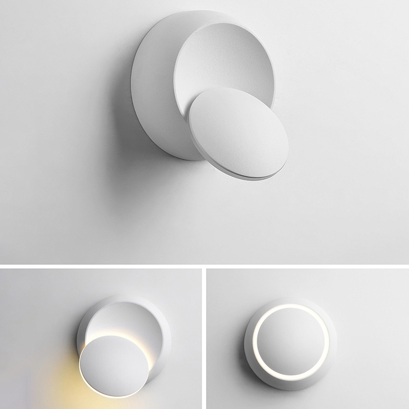 Lampe-De-Chevet-Ajustable-Rotative-A-360-Degres-85V-265V-Applique-5W-Led-I8D4 miniature 7