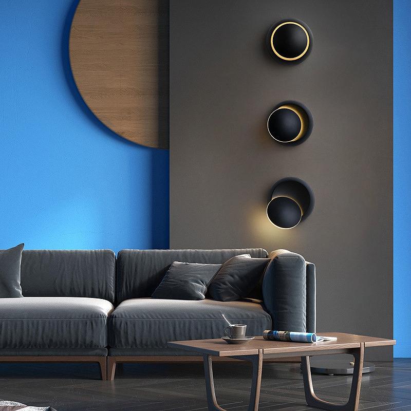 Lampe-De-Chevet-Ajustable-Rotative-A-360-Degres-85V-265V-Applique-5W-Led-I8D4 miniature 16