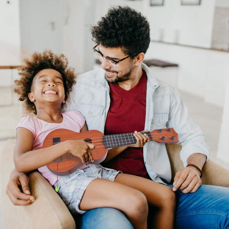 Juguete-Guitarra-De-EducacioN-Infantil-Temprano-Instrumento-Guitarra-Ukelel-J3D2 miniatura 7
