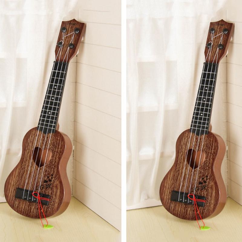 Juguete-Guitarra-De-EducacioN-Infantil-Temprano-Instrumento-Guitarra-Ukelel-J3D2 miniatura 15