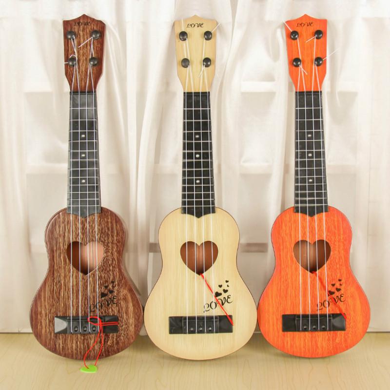 Juguete-Guitarra-De-EducacioN-Infantil-Temprano-Instrumento-Guitarra-Ukelel-J3D2 miniatura 23