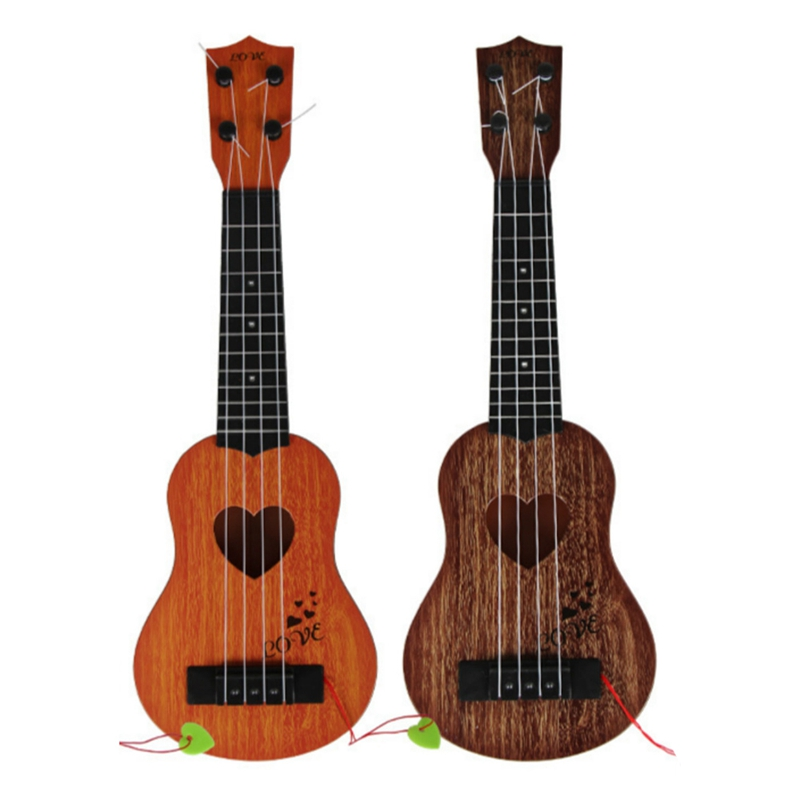 Juguete-Guitarra-De-EducacioN-Infantil-Temprano-Instrumento-Guitarra-Ukelel-J3D2 miniatura 30