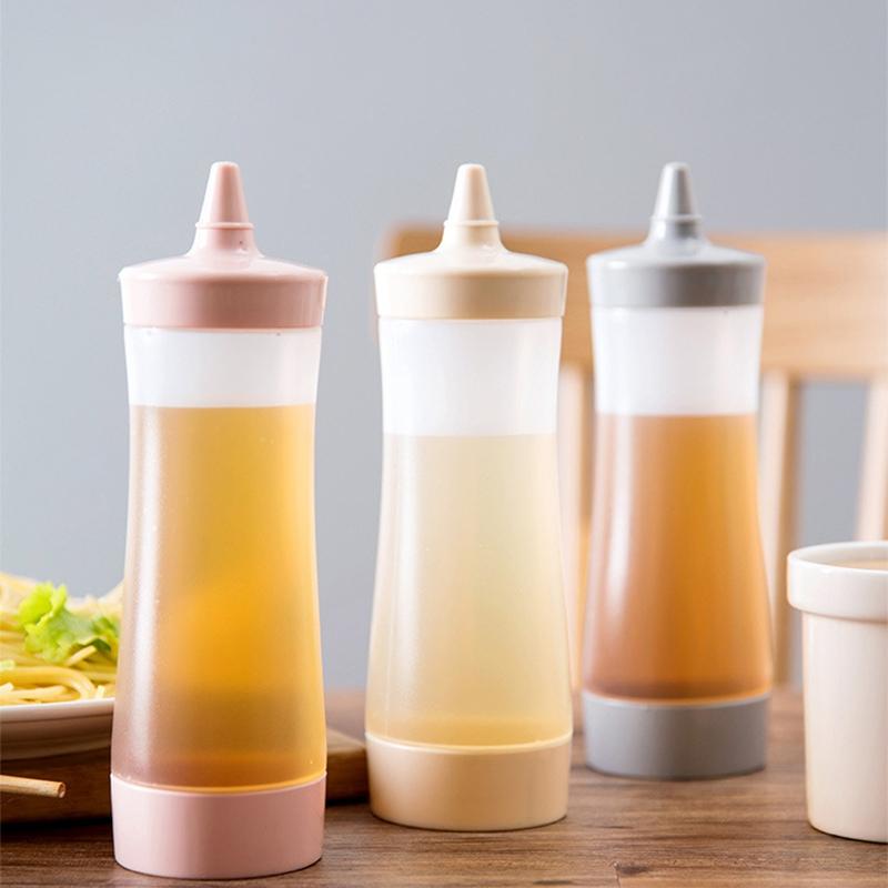 Bouteille-Compressible-Accessoires-De-Cuisine-Distributeur-De-Condiments-A-F2J1 miniature 9