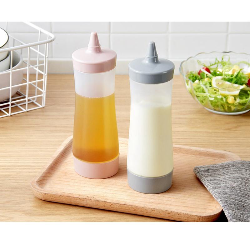 Bouteille-Compressible-Accessoires-De-Cuisine-Distributeur-De-Condiments-A-F2J1 miniature 10
