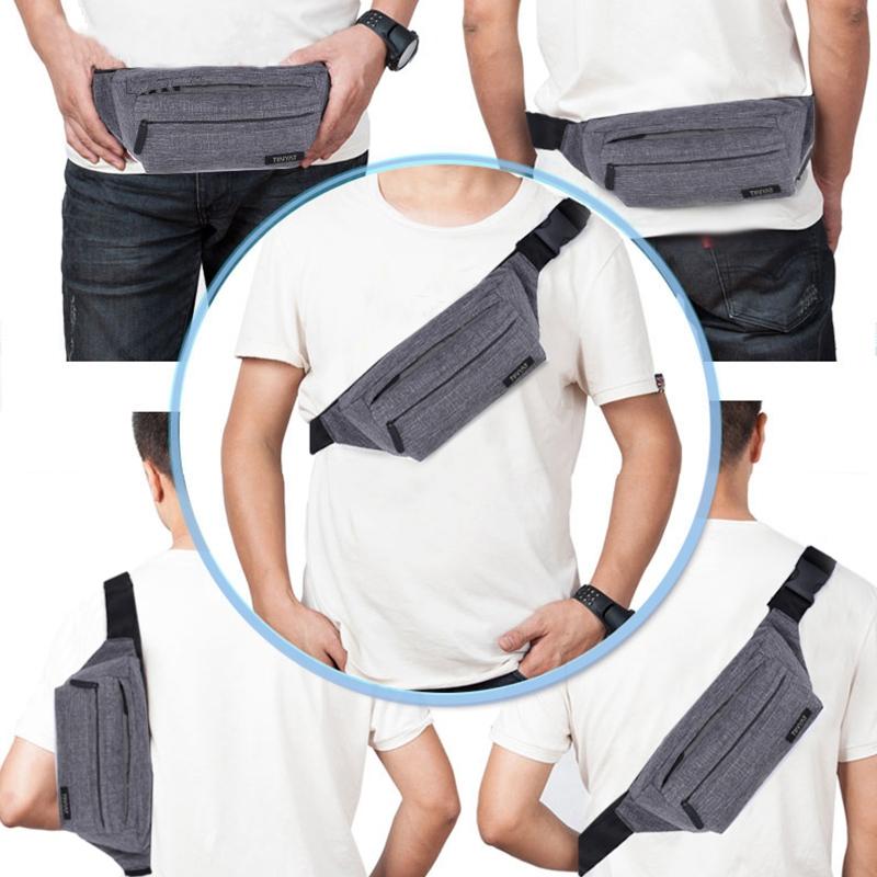 Tinyat-Paquete-Bolsa-De-Cintura-Masculino-Para-Hombre-Bolsa-De-CinturoN-Fun-J6F8 miniatura 6