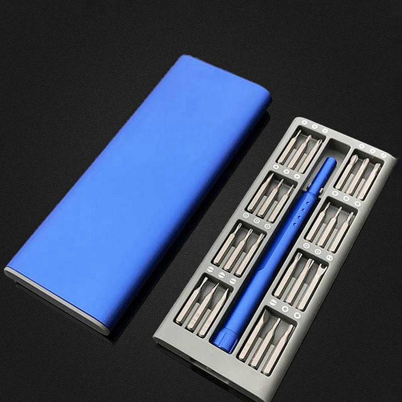 3X-Ensemble-de-Mini-Tournevis-Usage-Quotidien-25-Boite-de-Bits-Magnetiques-6X6 miniature 5