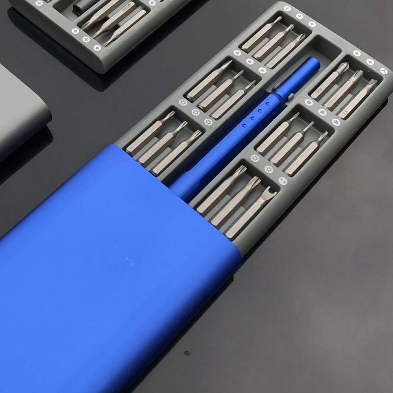 3X-Ensemble-de-Mini-Tournevis-Usage-Quotidien-25-Boite-de-Bits-Magnetiques-6X6 miniature 6