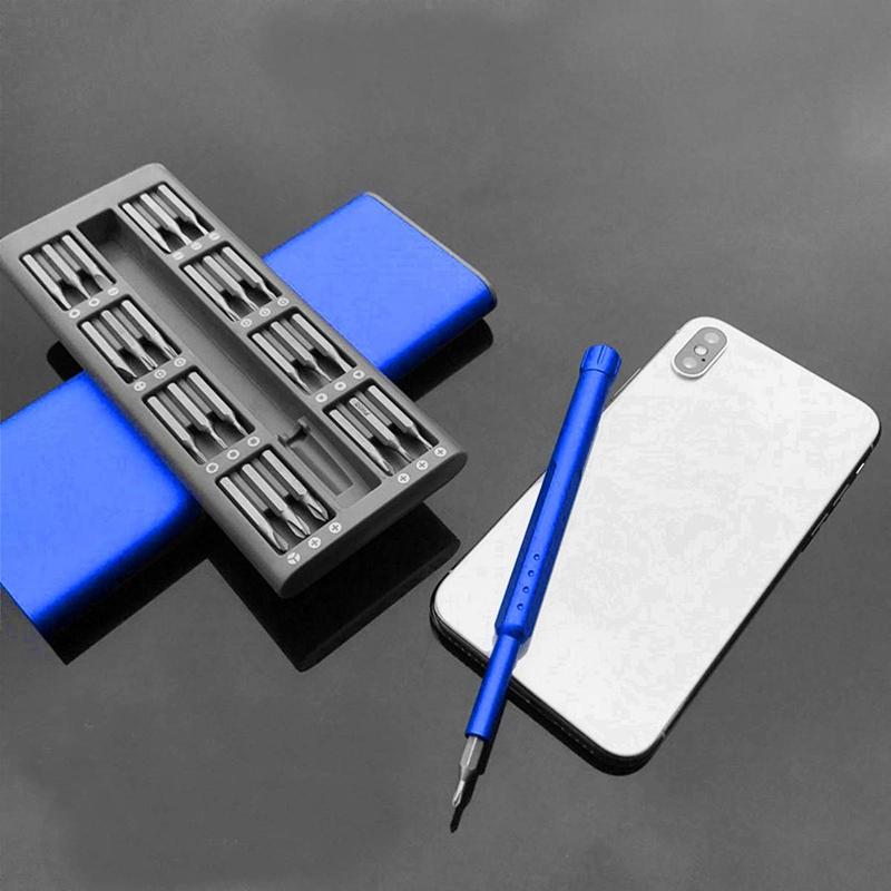 3X-Ensemble-de-Mini-Tournevis-Usage-Quotidien-25-Boite-de-Bits-Magnetiques-6X6 miniature 7