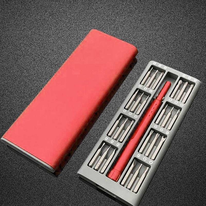 3X-Ensemble-de-Mini-Tournevis-Usage-Quotidien-25-Boite-de-Bits-Magnetiques-6X6 miniature 10