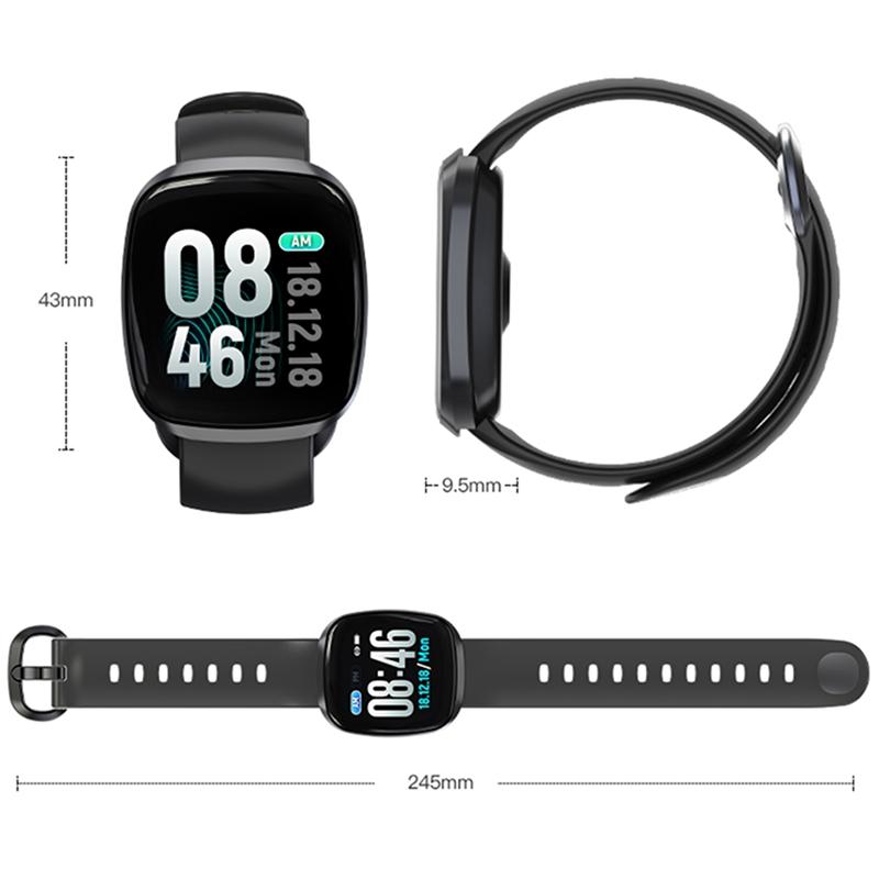 Intelligente-Uhr-Wasserdichtes-Gt103-Blut-Druck-Fitness-Tracker-Schlaf-Moni-U8R3 Indexbild 5