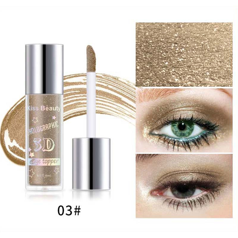 2X-Kiss-Beauty-3D-Metal-Liquid-Eyeshadow-Glitter-Eye-Shadow-Liquid-Shimmer-A9F1 thumbnail 3