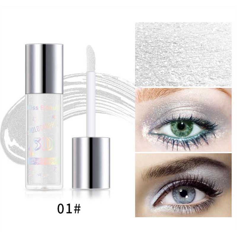 2X-Kiss-Beauty-3D-Metal-Liquid-Eyeshadow-Glitter-Eye-Shadow-Liquid-Shimmer-A9F1 thumbnail 5