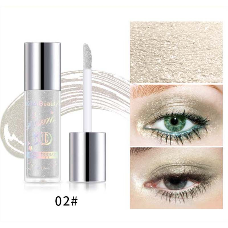 2X-Kiss-Beauty-3D-Metal-Liquid-Eyeshadow-Glitter-Eye-Shadow-Liquid-Shimmer-A9F1 thumbnail 6