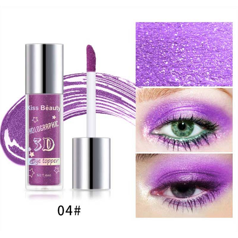 2X-Kiss-Beauty-3D-Metal-Liquid-Eyeshadow-Glitter-Eye-Shadow-Liquid-Shimmer-A9F1 thumbnail 7