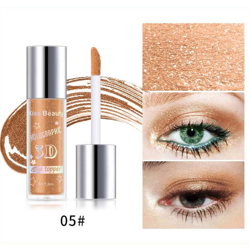 2X-Kiss-Beauty-3D-Metal-Liquid-Eyeshadow-Glitter-Eye-Shadow-Liquid-Shimmer-A9F1 thumbnail 8