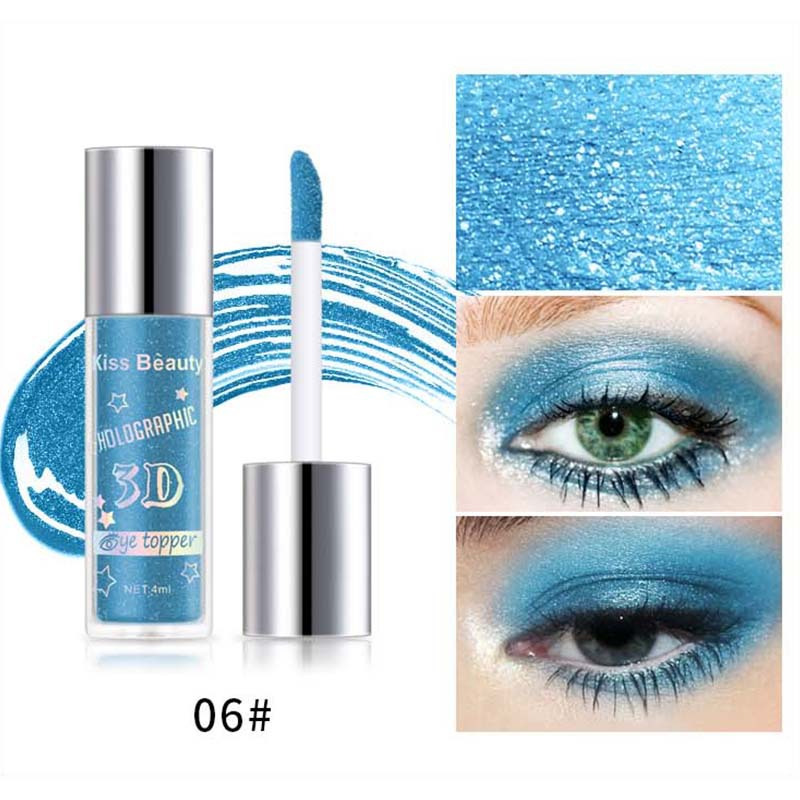 2X-Kiss-Beauty-3D-Metal-Liquid-Eyeshadow-Glitter-Eye-Shadow-Liquid-Shimmer-A9F1 thumbnail 9