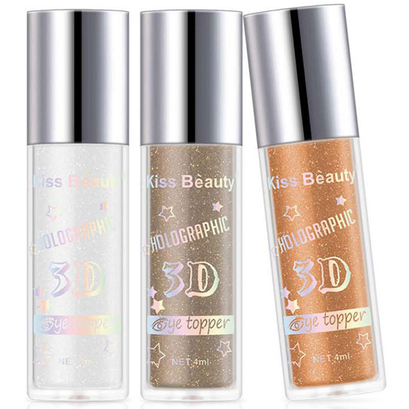2X-Kiss-Beauty-3D-Metal-Liquid-Eyeshadow-Glitter-Eye-Shadow-Liquid-Shimmer-A9F1 thumbnail 60