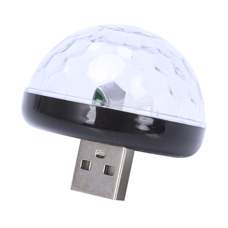 Lampe-D-039-Atmosphere-Usb-De-Voiture-Led-Mini-Lampe-Sonore-Musique-Coloree-Dj-Q3N7 miniature 13