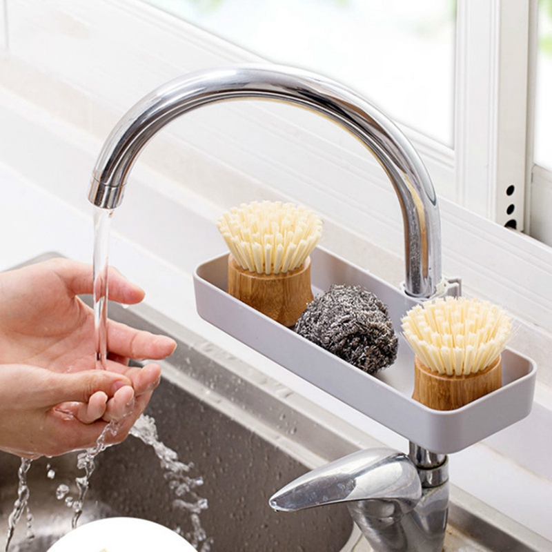Kitchen-Products-Faucet-Long-Shelf-Pool-Kitchen-Storage-Rack-Sink-Punch-PlaY4X3 thumbnail 3