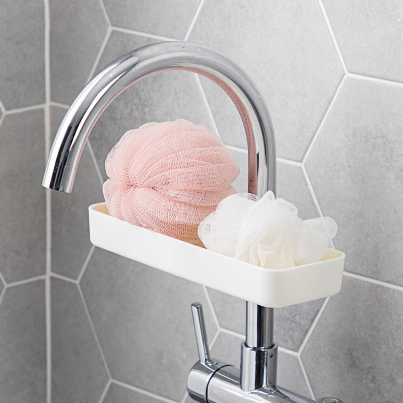 Kitchen-Products-Faucet-Long-Shelf-Pool-Kitchen-Storage-Rack-Sink-Punch-PlaY4X3 thumbnail 4