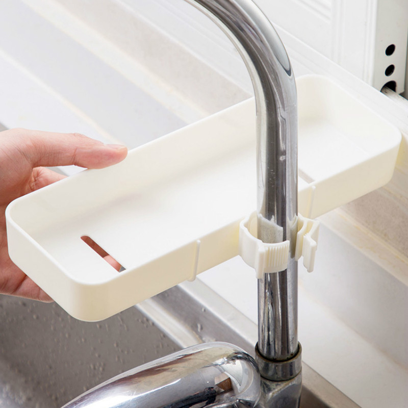 Kitchen-Products-Faucet-Long-Shelf-Pool-Kitchen-Storage-Rack-Sink-Punch-PlaY4X3 thumbnail 6