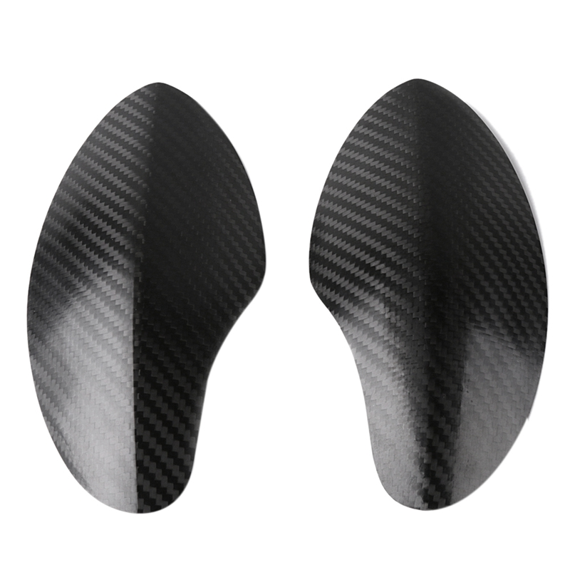 Carbon Fiber Protective Guard Cover Motorcycle Scooter Guard Cover Glossy Black