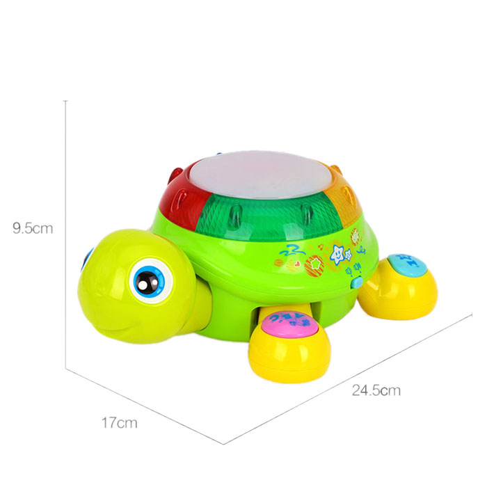 Music Crawling Turtle Toy Children Early Education ...