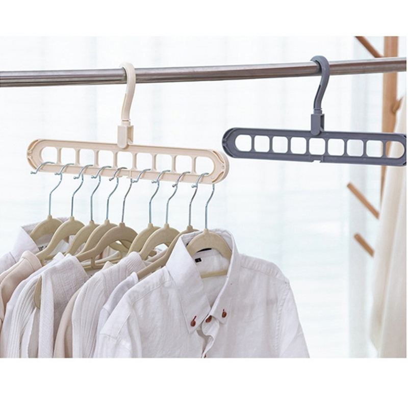 Multi-Port-Support-Circle-Clothes-Hanger-Clothes-Drying-Rack-Multifunction-I1Y8 thumbnail 3