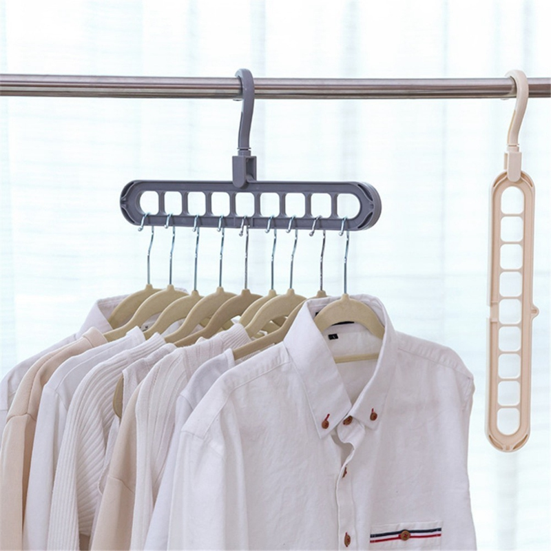 Multi-Port-Support-Circle-Clothes-Hanger-Clothes-Drying-Rack-Multifunction-I1Y8 thumbnail 17