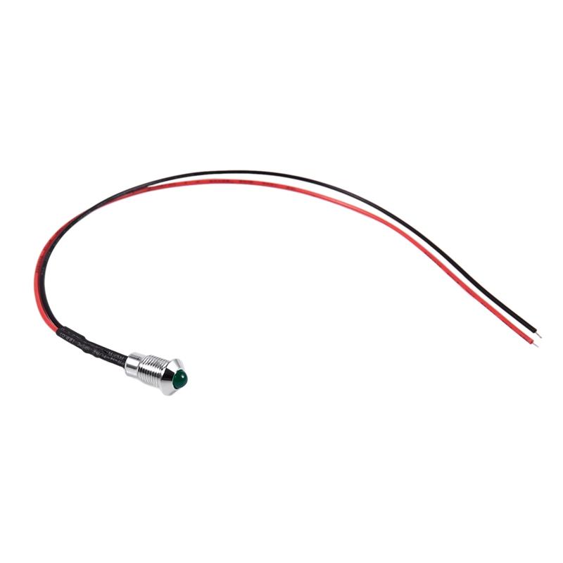 thumbnail 22 - 8mm Car LED Dash Panel Pilot Warning Light Indicator Lamp K6Y8