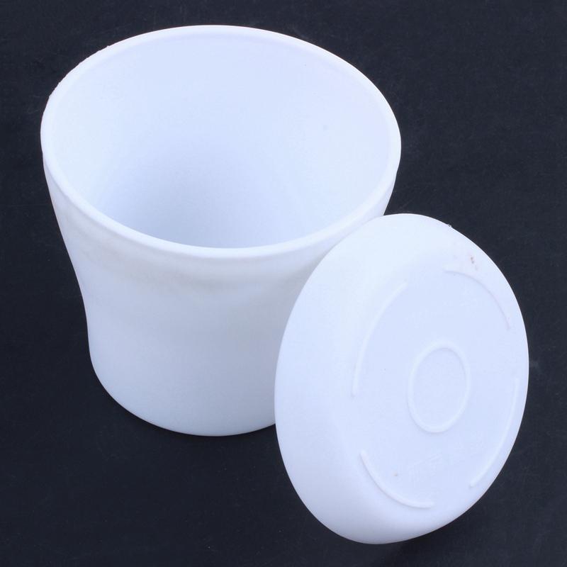Plastic-Blumentopf-Pflanzgefaess-Mit-Untertassenablage-Rund-Hochglanz-Home-Ga-L8N2 Indexbild 3