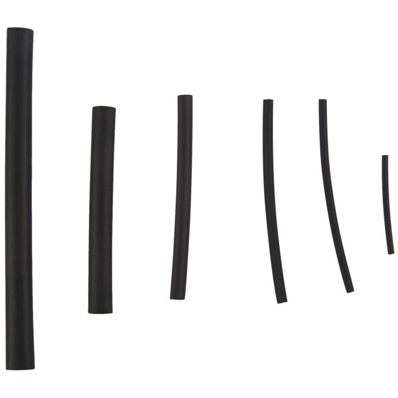 Schwarz Verschiedene Groessen Schrumpfschlauch Schlauch Umwicklungsdrahtfla G9P8