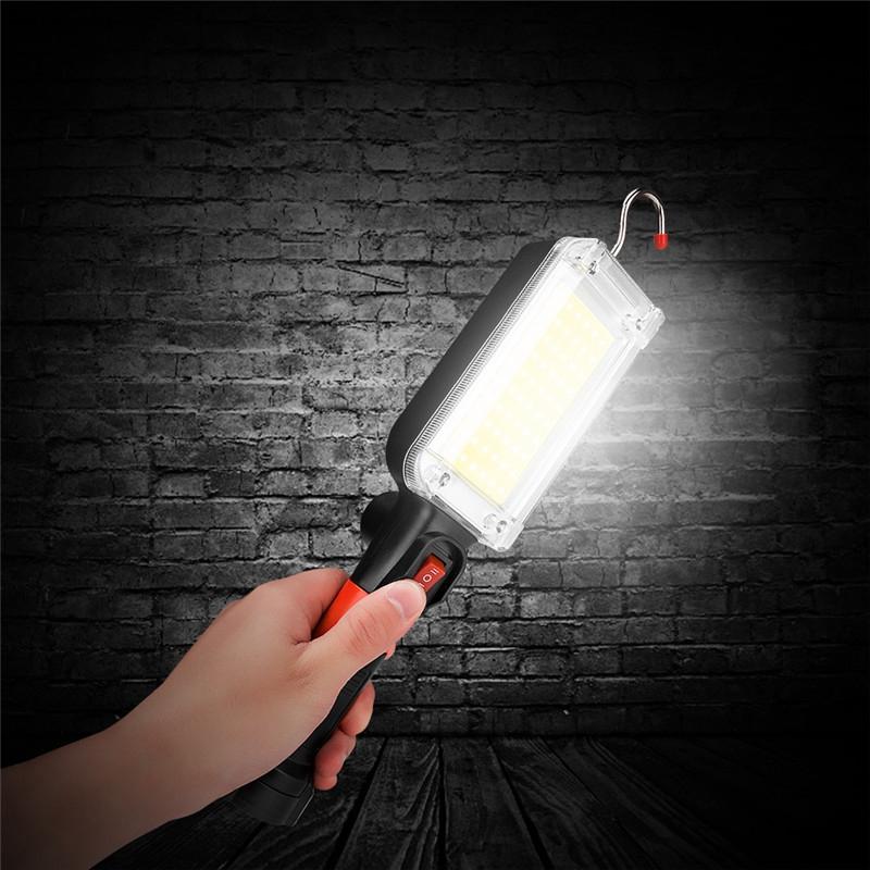 USB-Charging-Mode-Camping-Light-Portable-Lantern-Flashlight-Power-Led-COB-M-X2C4 thumbnail 5