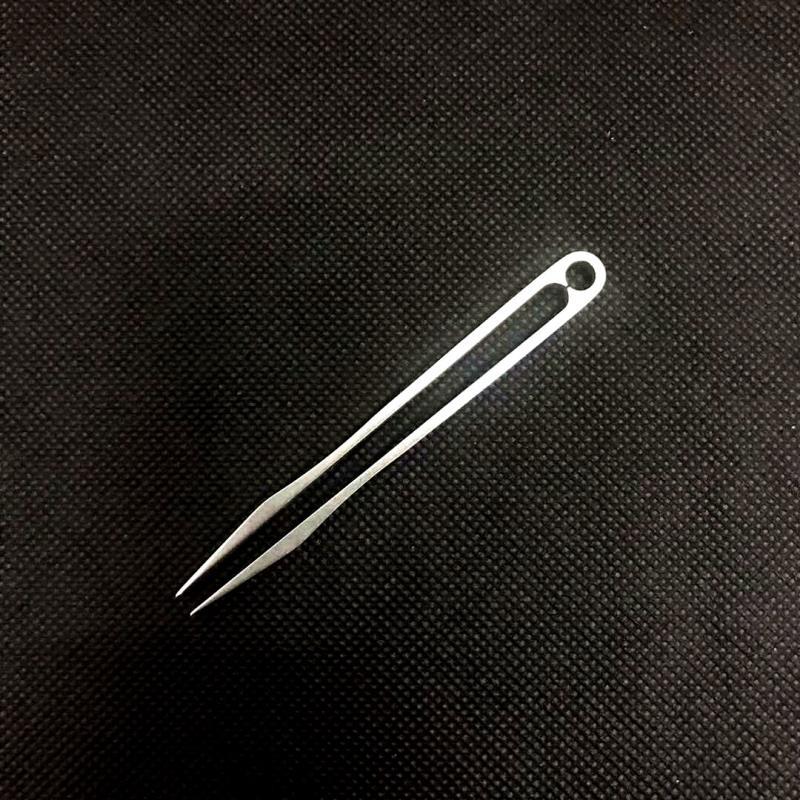 1X-Titanium-Alloy-Production-Tweezers-Outdoor-Home-Travel-Edc-Gadget-Antiba-V2H6 thumbnail 5