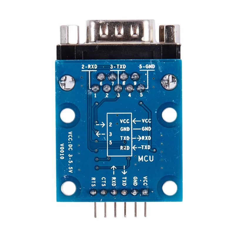 RS232-SP3232-TTL-Vers-Port-SeRie-Male-TTL-Vers-Module-SeRie-de-Conversion-d-W4Z2 miniature 2