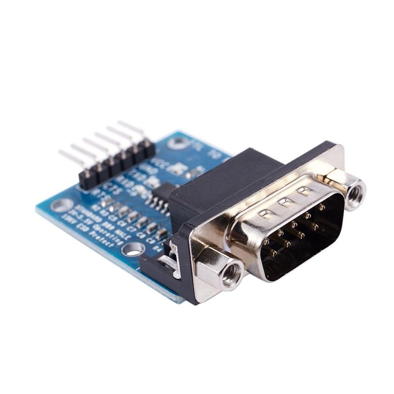 RS232-SP3232-TTL-Vers-Port-SeRie-Male-TTL-Vers-Module-SeRie-de-Conversion-d-W4Z2 miniature 4