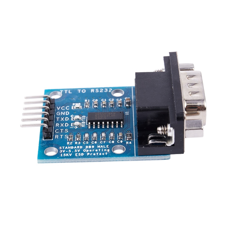 RS232 SP3232 TTL to male serial port TTL to RS232 level conversion serial m Q9V4