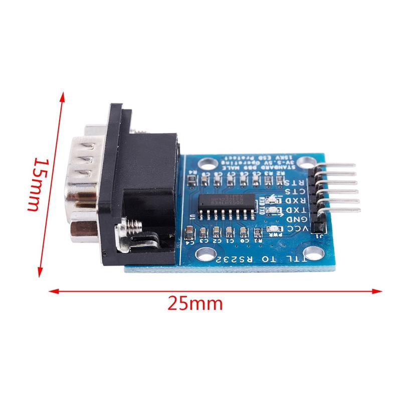 RS232-SP3232-TTL-Vers-Port-SeRie-Male-TTL-Vers-Module-SeRie-de-Conversion-d-W4Z2 miniature 7
