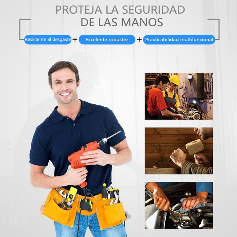 OLSON-DEEPAK-Guantes-de-Proteccion-de-Trabajo-de-Pu-Para-Transporte-de-Jardineri miniatura 7