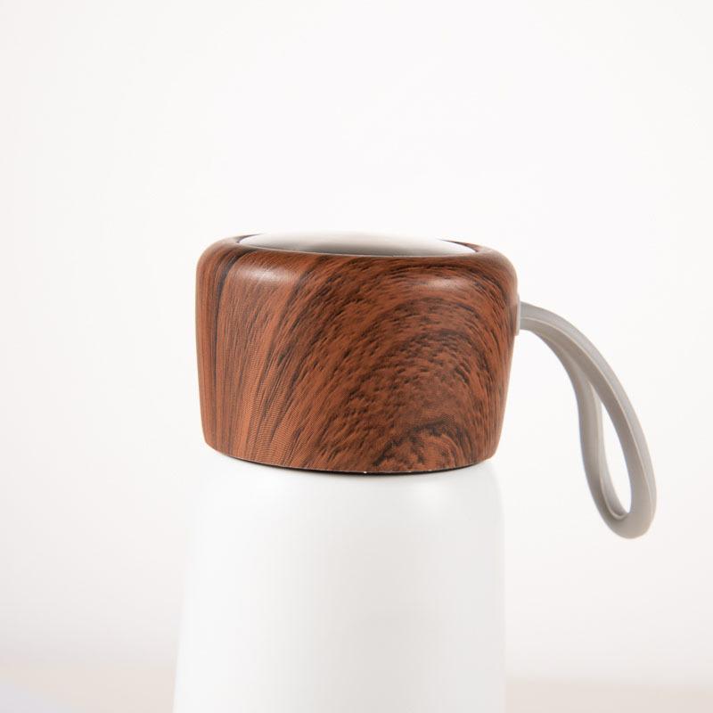 Edelstahl-Holz-Abdeckung-Tasse-Heisse-Tasse-Grosse-Kapazitaet-Vakuum-Saugnapf-Y9N5 Indexbild 5
