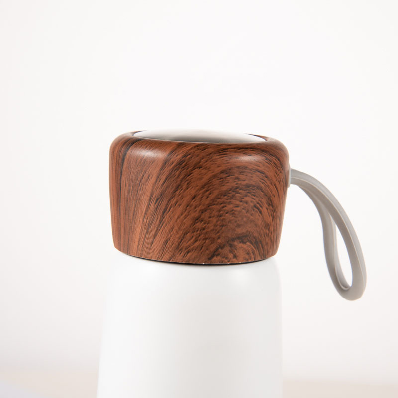 Edelstahl-Holz-Abdeckung-Tasse-Heisse-Tasse-Grosse-Kapazitaet-Vakuum-Saugnapf-Y9N5 Indexbild 19