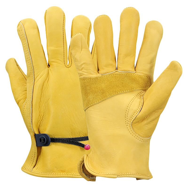 9X(OLSON DEEPAK Arbeit Handschuhe Pu Werksfahrer Klettern Garten Schutz Hand W8)